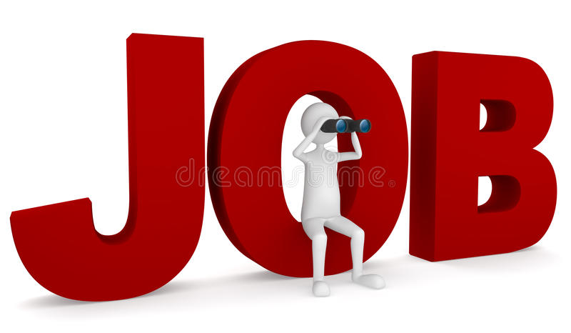 Suchen nach Job vektor abbildung