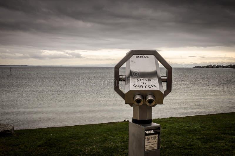 Sucher, Bodensee, Deutschland lizenzfreies stockbild