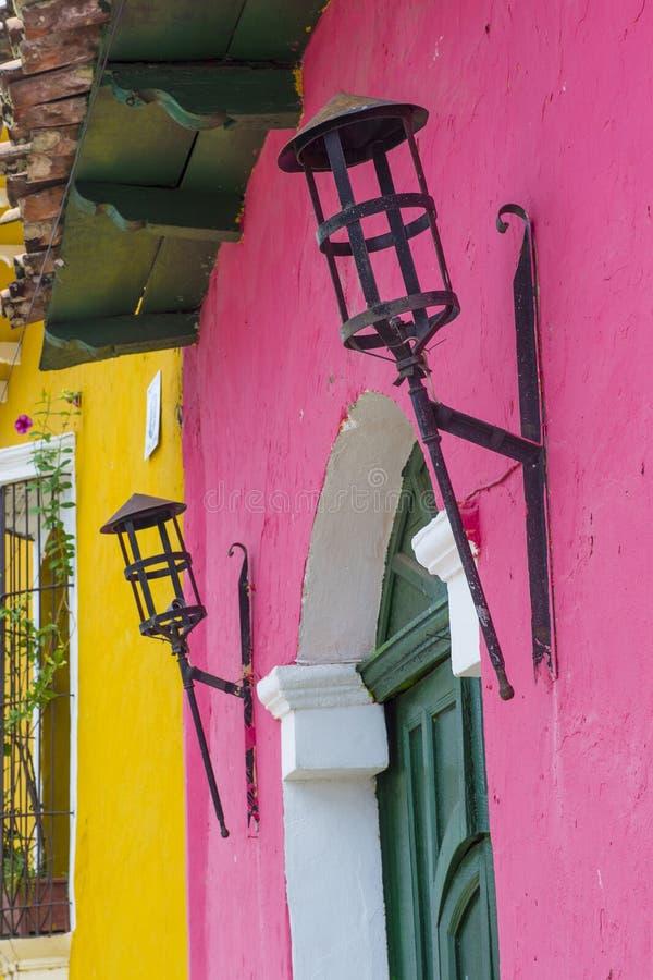 Suchitoto, Salvador photos stock