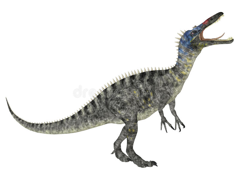 Download Suchomimus stock illustration. Image of render, giant - 25119793