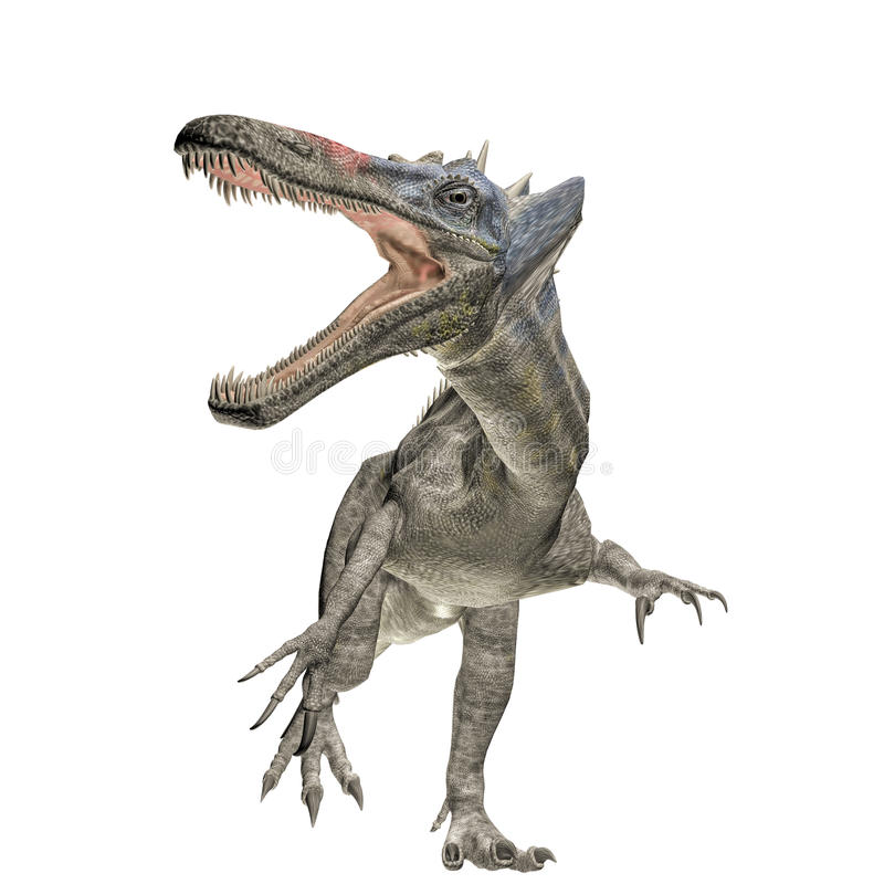 Suchomimus libre illustration