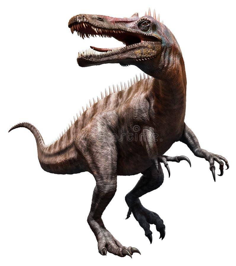 Suchomimus stock de ilustración
