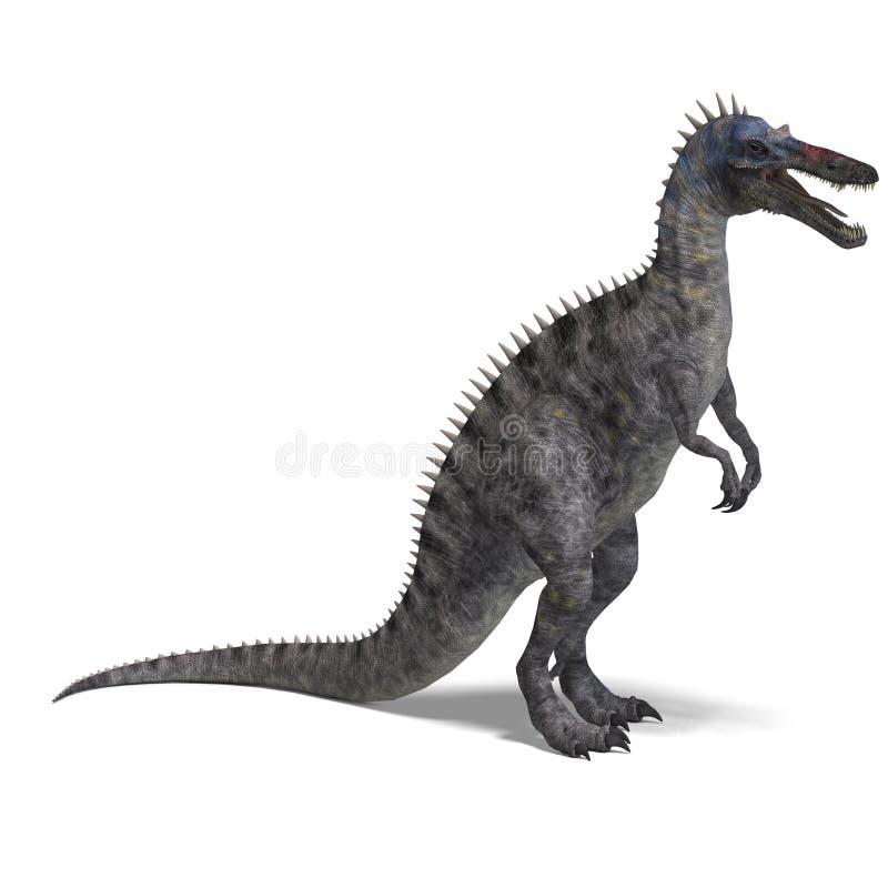 suchominus динозавра иллюстрация вектора