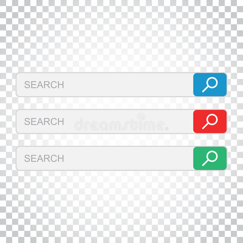 Download Suchstangenfeld Stellen Sie Vektorschnittstellenelemente Mit Suchkolben Ein Vektor Abbildung - Illustration von stab, browse: 96935713