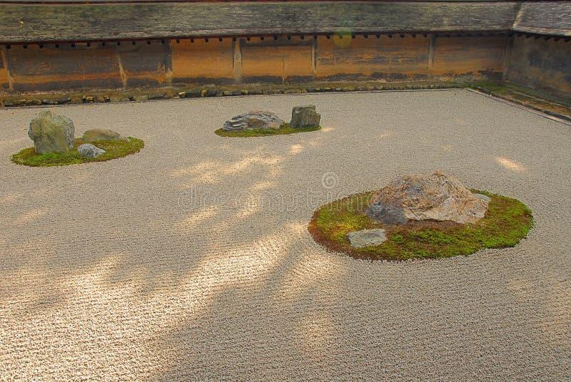 Suchy krajobrazu ogród zdjęcie royalty free