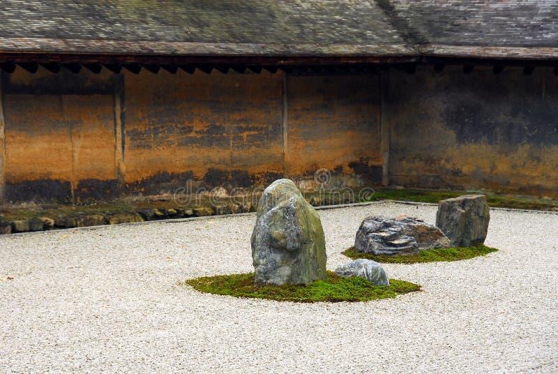 Suchy krajobrazu ogród zdjęcie stock