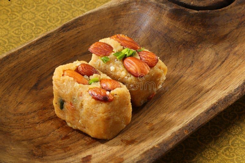 Suchy Owocowy Halva, Indiańscy cukierki zdjęcie royalty free