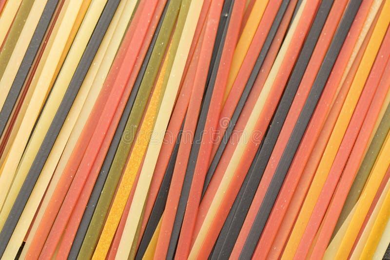 Suchy Surowy Makaronowy tekstury tło fotografia royalty free