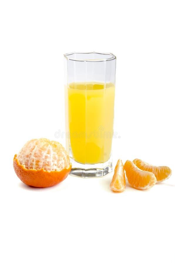 Suco com fruto foto de stock