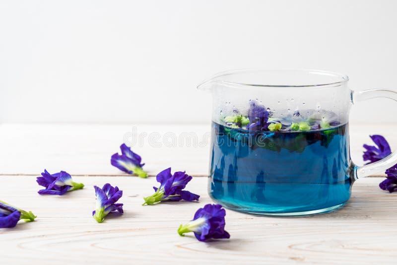 Suco da ervilha de borboleta imagens de stock