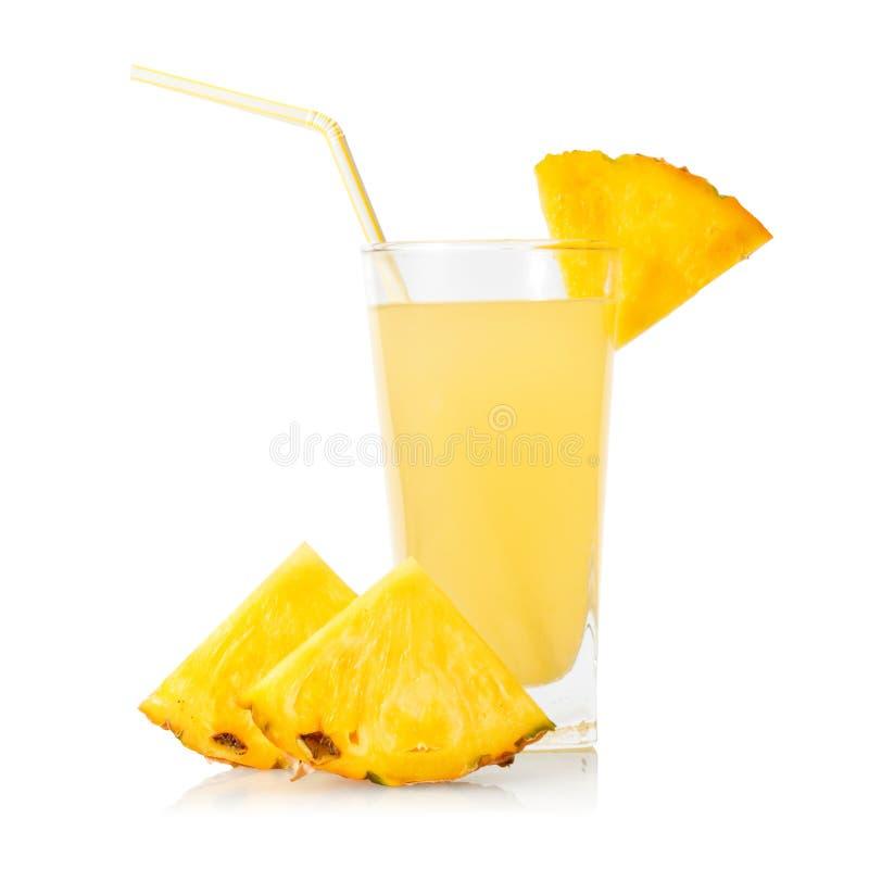 Suco de abacaxi foto de stock