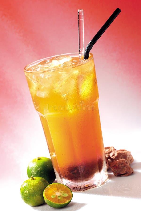 Suco de Assam do cal foto de stock royalty free