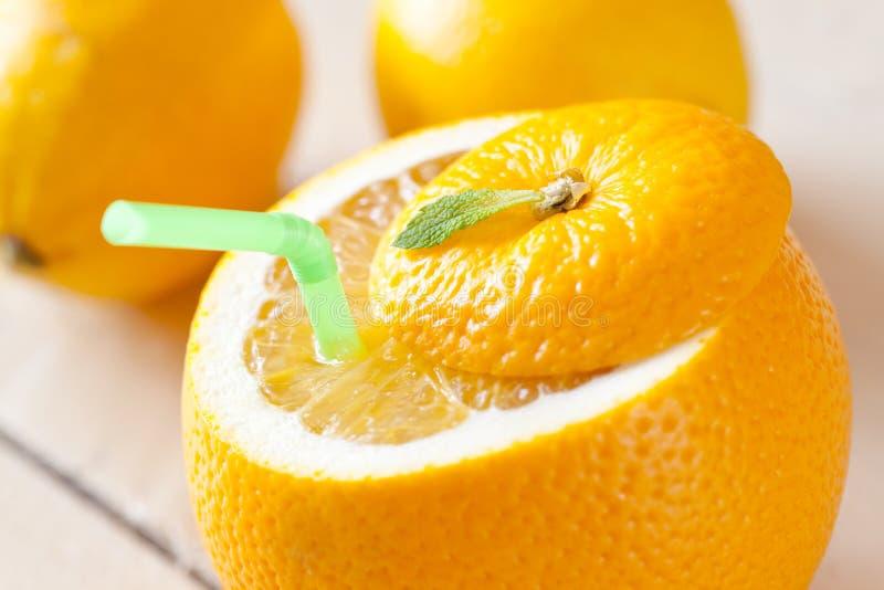 Suco de fruta fresca foto de stock
