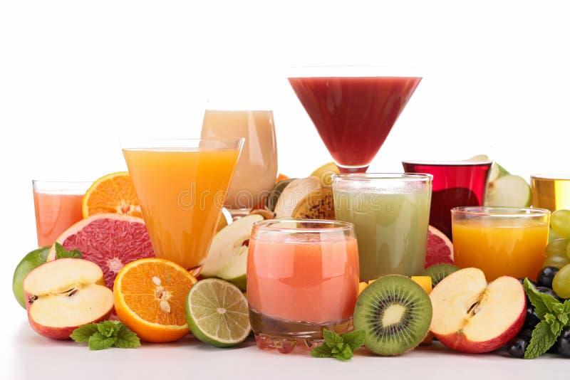 Suco de fruto foto de stock