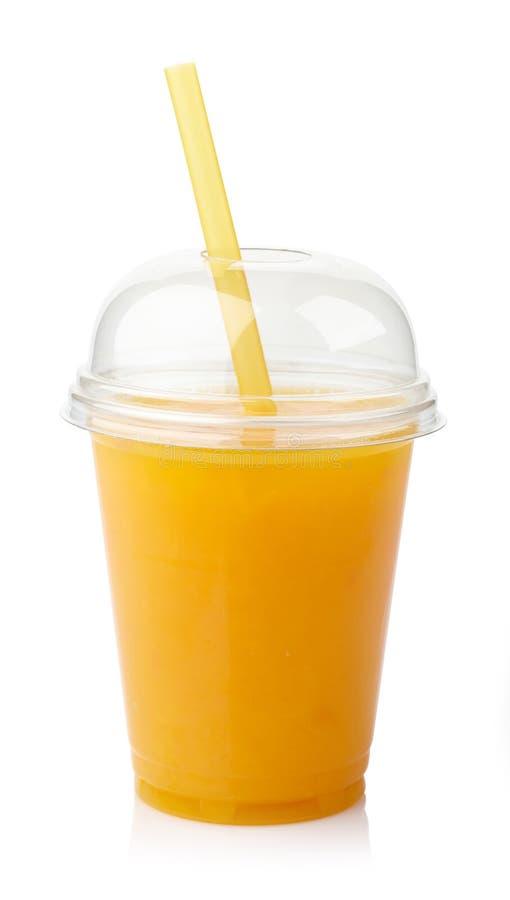 Suco de laranja fresco foto de stock royalty free
