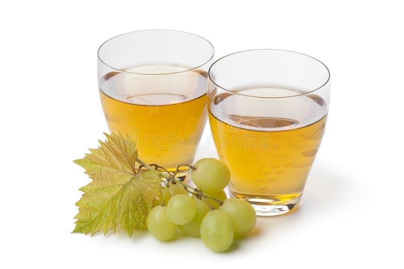Suco de uva branca fresco fotos de stock royalty free