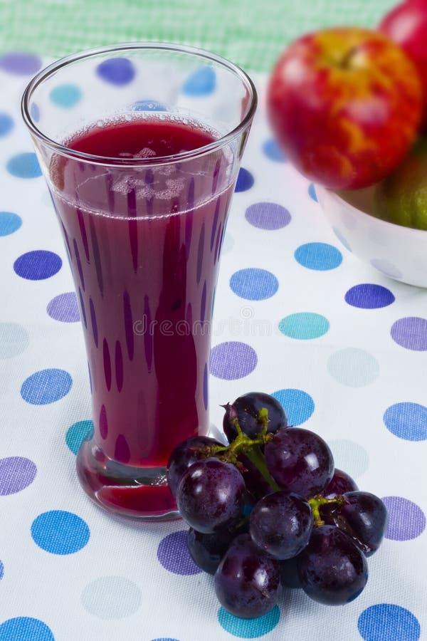 Suco de uva fresco foto de stock royalty free