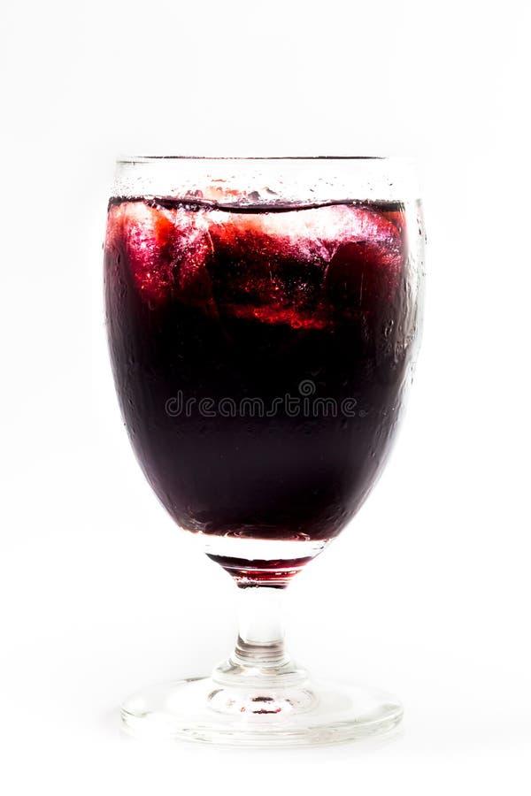Suco de uva vermelha imagem de stock royalty free