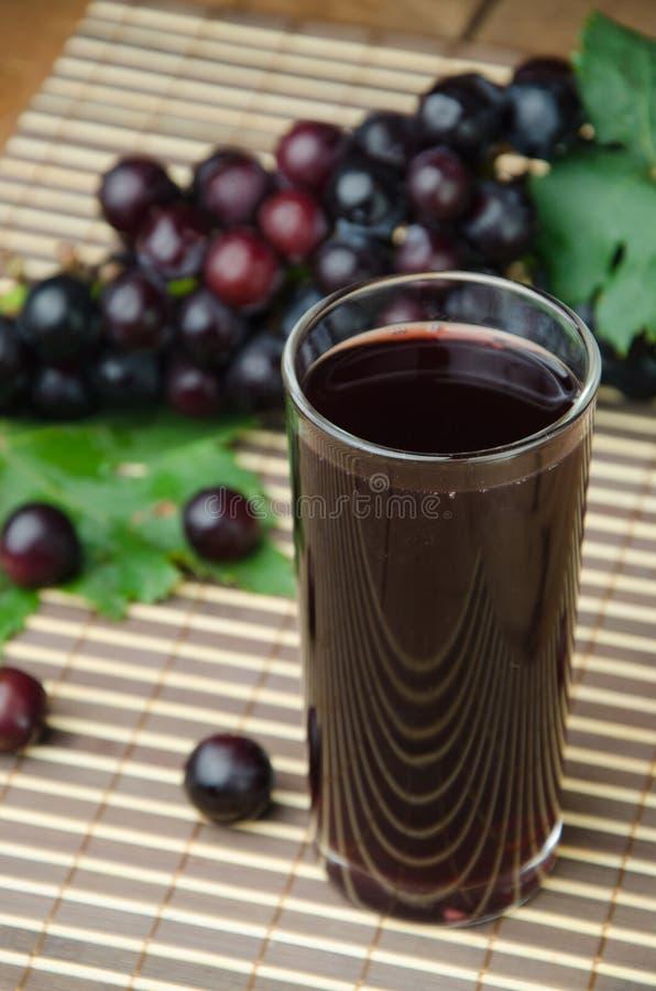 Suco de uvas foto de stock