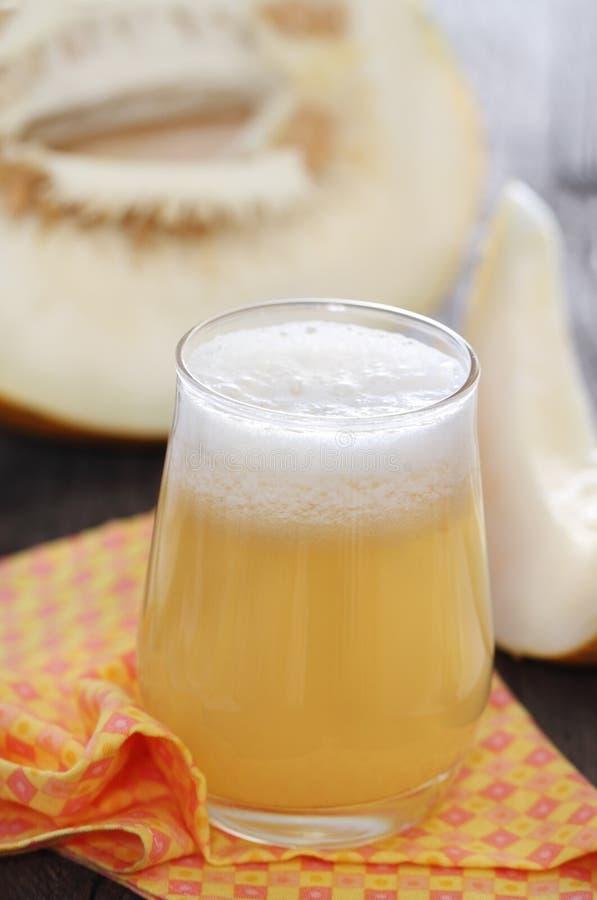 Suco do melão de Honeydew foto de stock