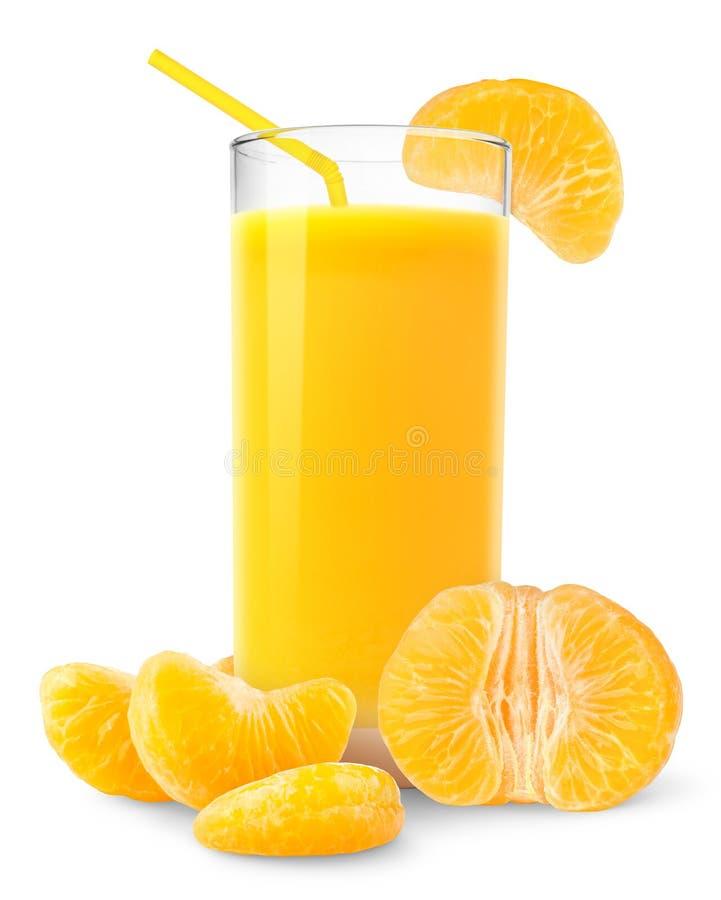 Suco do Tangerine imagem de stock royalty free