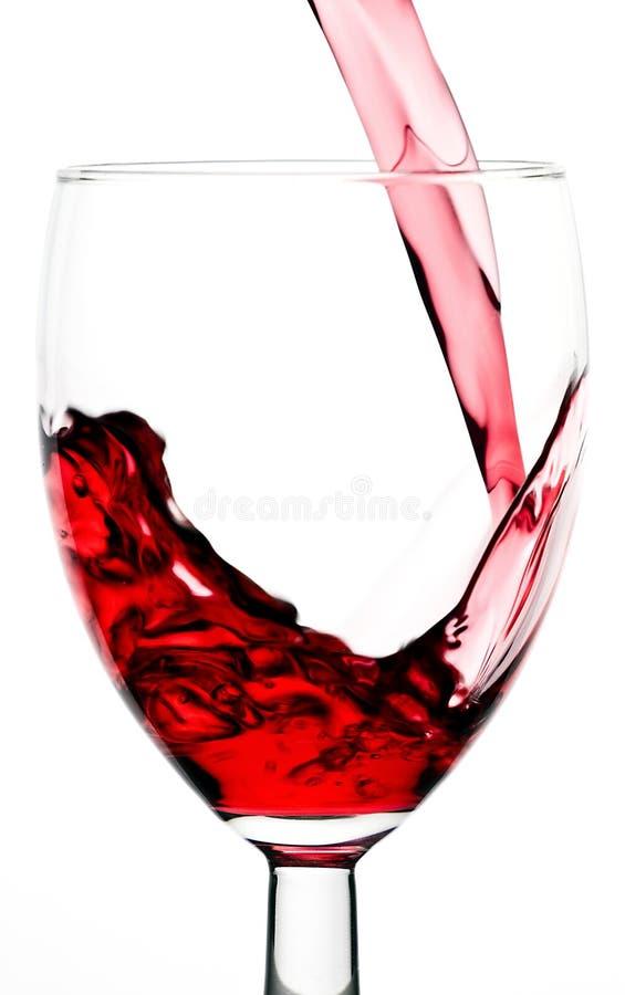 Suco e vidro imagens de stock royalty free