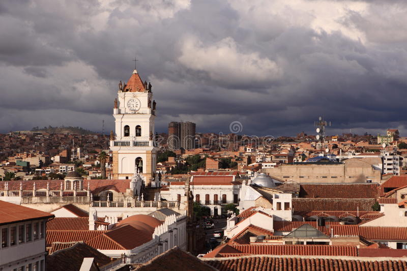 Sucre, Βολιβία στοκ φωτογραφία με δικαίωμα ελεύθερης χρήσης