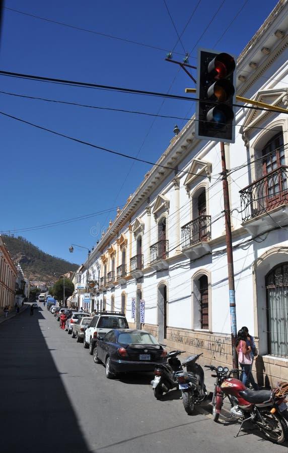 Sucre, Bolívia fotografia de stock royalty free