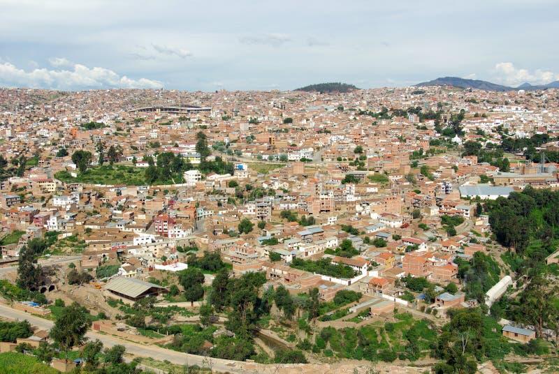 Sucre, Bolívia imagem de stock royalty free