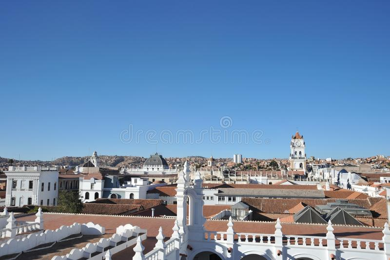 Sucre, Bolivië royalty-vrije stock afbeeldingen