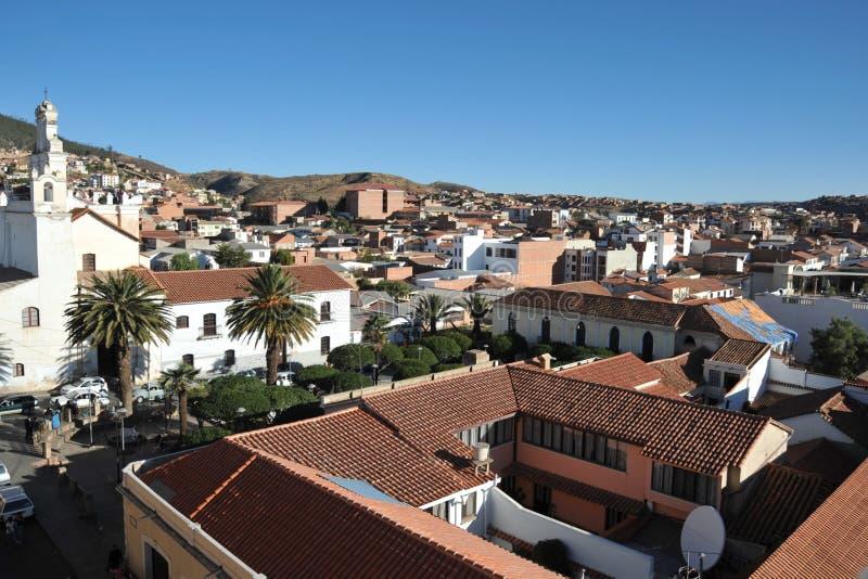 Sucre, Bolivië royalty-vrije stock afbeelding