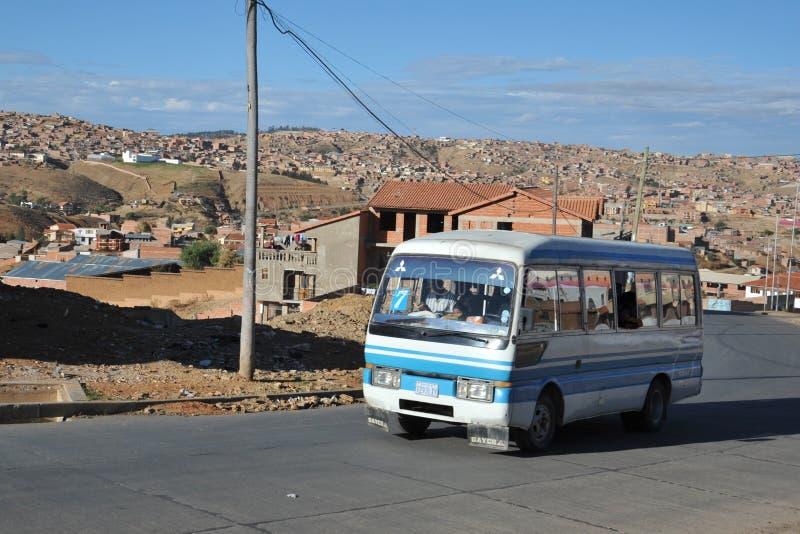 Sucre, Bolivië stock afbeeldingen