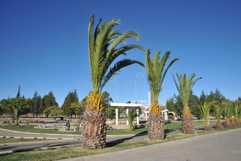 Sucre, Bolivië stock fotografie