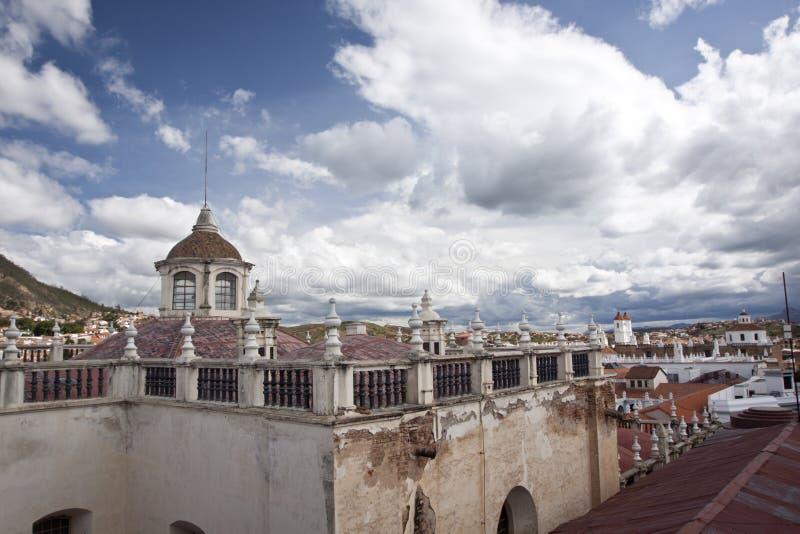 Sucre, Bolivia foto de archivo libre de regalías
