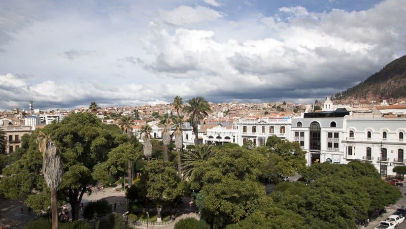 Sucre, Bolivia imagen de archivo