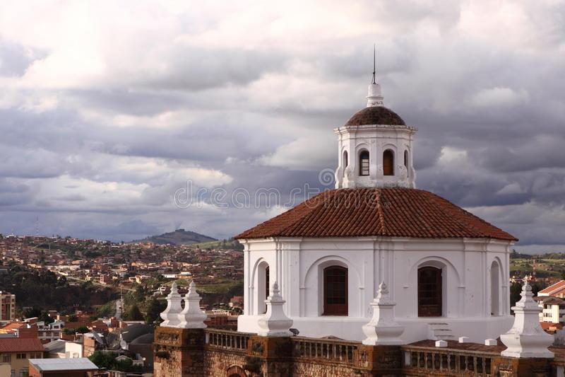 Sucre, Bolivia imagen de archivo libre de regalías