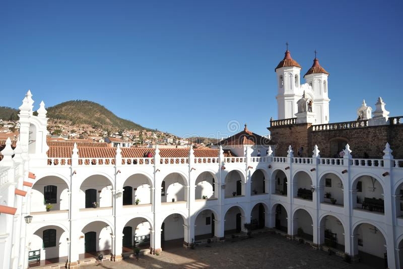 Sucre Bolivia royaltyfri bild