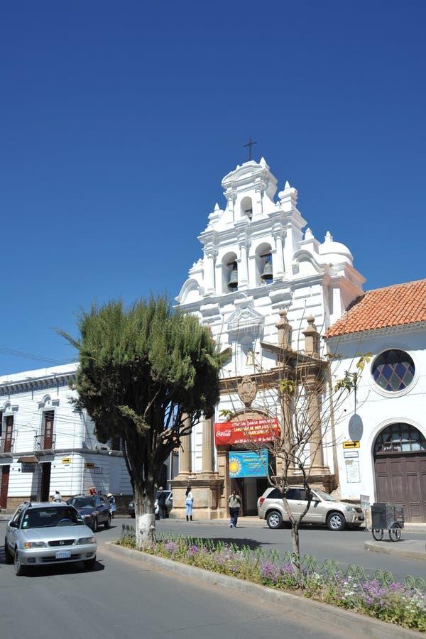 Sucre, Bolivia immagine stock libera da diritti