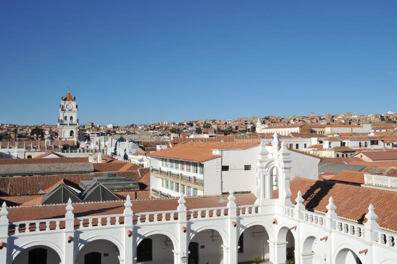 Sucre, Bolivia fotografía de archivo libre de regalías