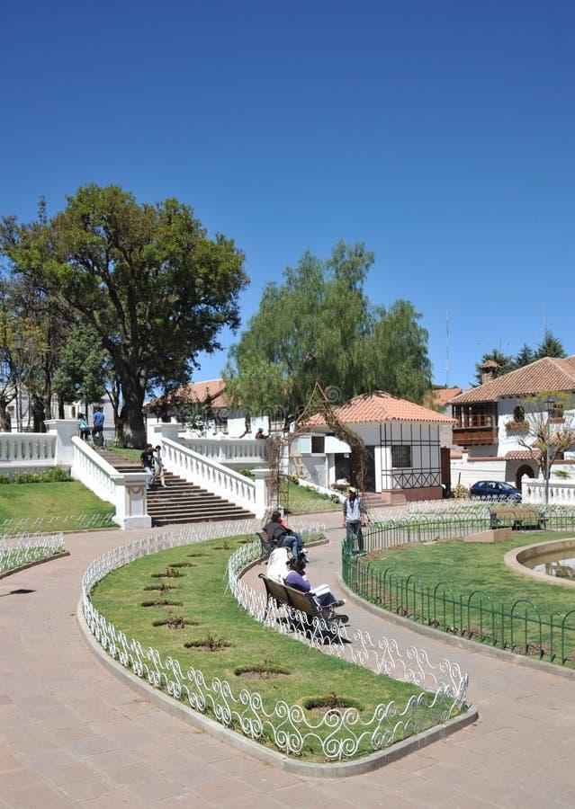 Sucre, Bolivia imagenes de archivo
