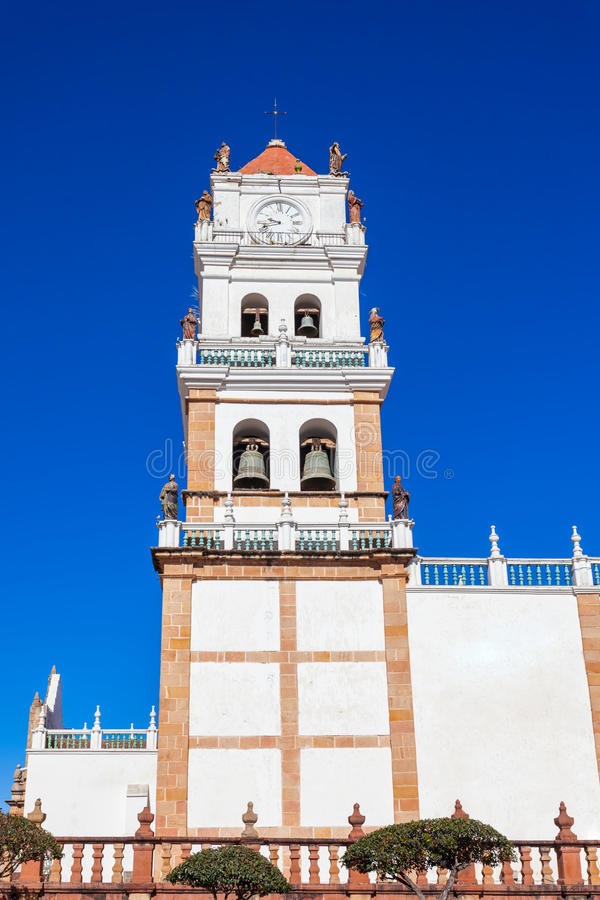 Sucre Cathedral stock photography