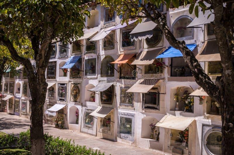 Sucre Cementary, Bolivia foto de archivo