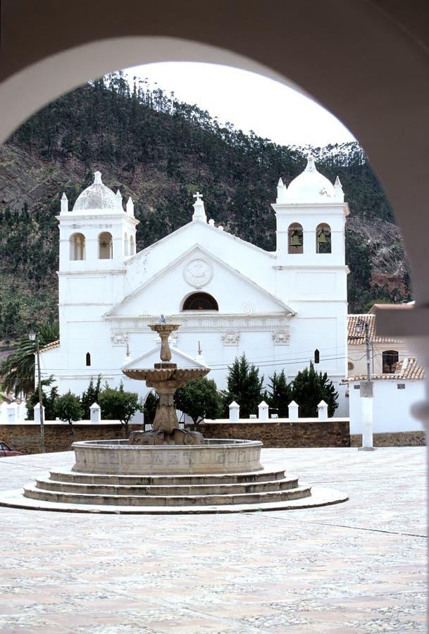 Sucre da igreja, Bolívia foto de stock royalty free