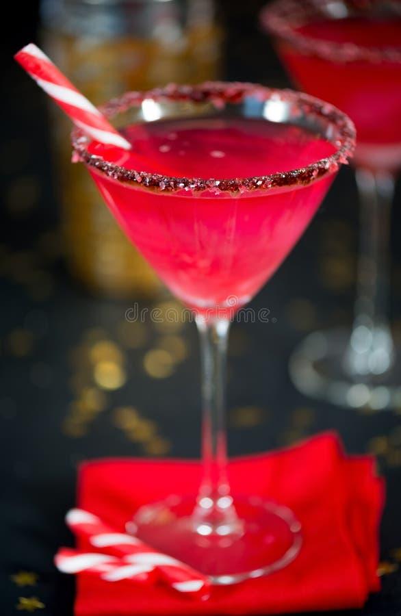 sucrerie cane infused cocktail de no l photo stock image. Black Bedroom Furniture Sets. Home Design Ideas