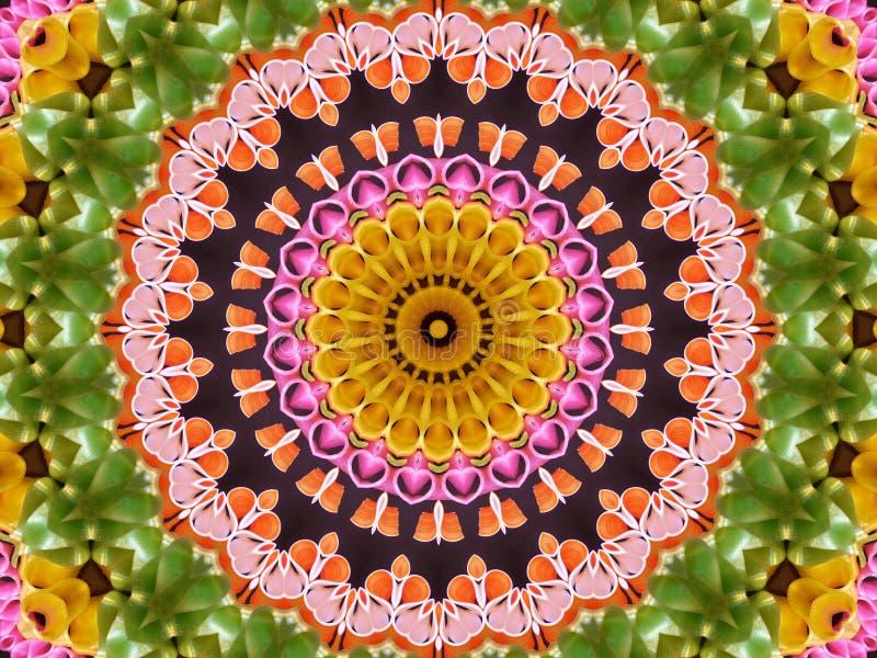 Sucrerie de bande de kaléidoscope illustration de vecteur