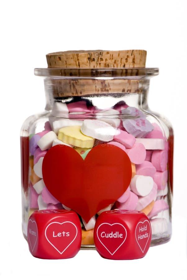 Sucrerie de Valentine photographie stock libre de droits