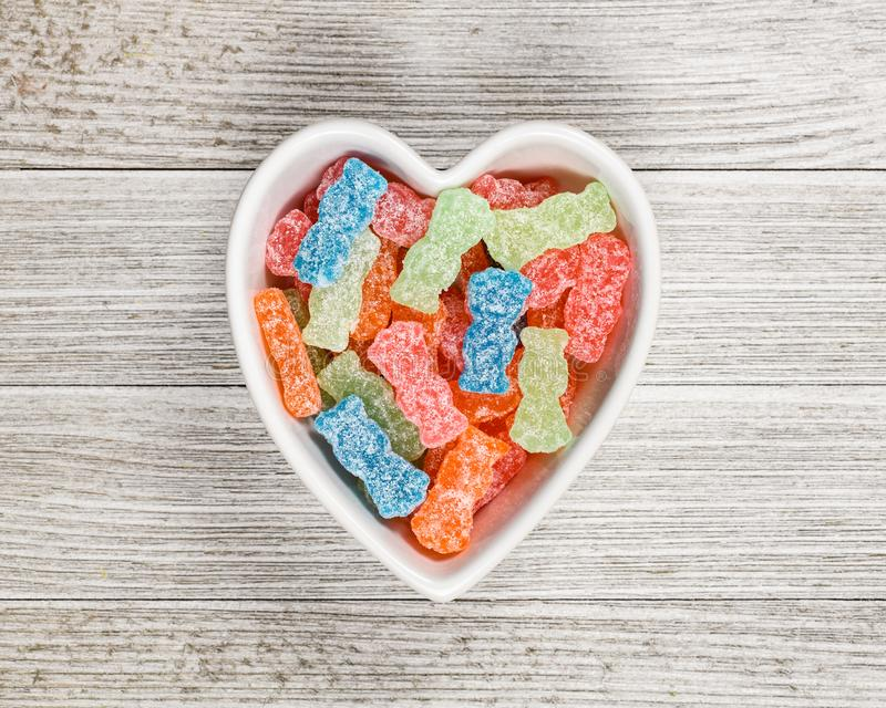 Sucrerie douce et aigre Sugar Junk Food image stock