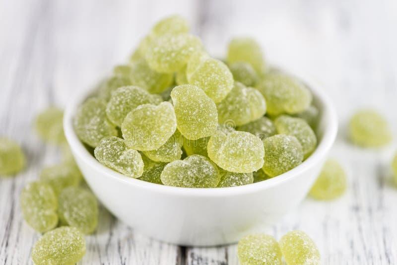 Download Sucrerie Gommeuse Aigre Et X28 ; Taste& X29 De Pomme ; Photo stock - Image du macro, heap: 76084714