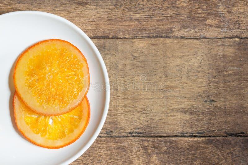 Sucrerie orange image libre de droits