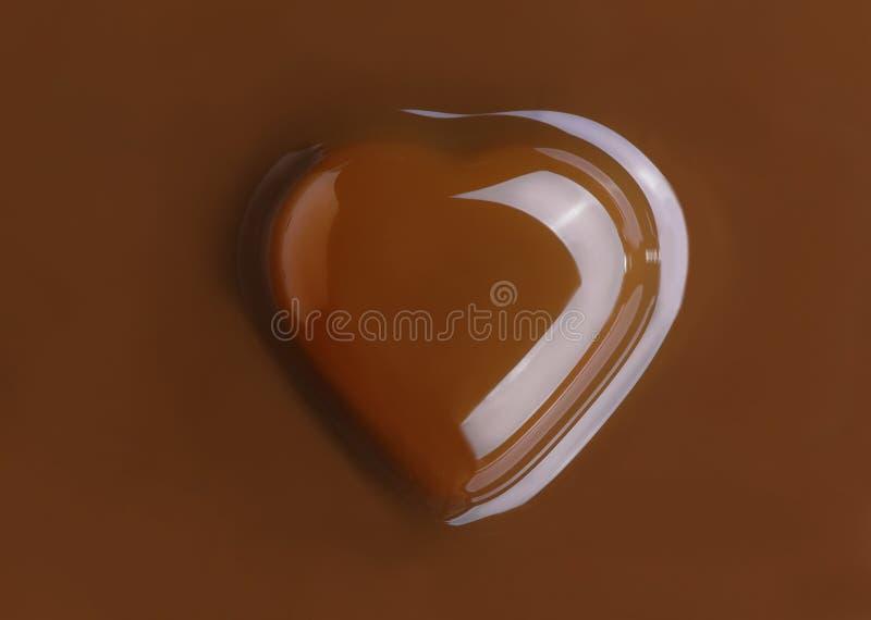 Sucrerie sous forme de coeur image libre de droits